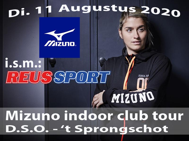 Mizuno clubtour bij DSO op di 11 augustus 2020