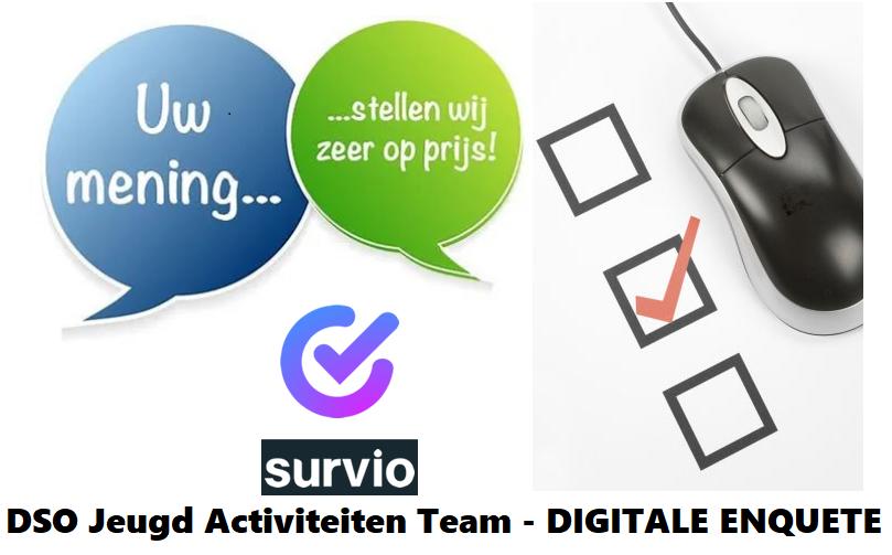 Online Enquête Jeugd Activiteiten Team voor onze DSO leden