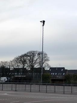 LED verlichting op de DSO handbalvelden